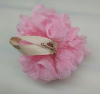 Мочалка-бант розовая СпивакЪ (40608)