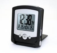 Электронные цифровые дорожные часы-будильник Wendox W2713-B