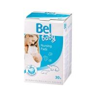 Вкладыши в бюстгальтер для кормящей мамы Bel Baby Nursing Pads, 30 шт. (4911918)