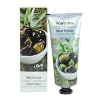 Крем для рук с экстрактом оливы FarmStay VISIBLE DIFFERERCE HAND CREAM OLIVE 100ml (510022)