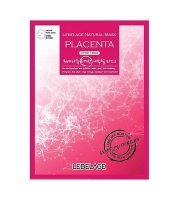 Тканевая маска для лица с плацентой LEBELAGE PLACENTA NATURAL MASK 23 мл (539225)