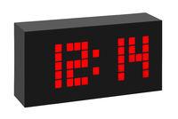 Цифровые часы радиоуправляемые с термометром TFA TIME BLOCK (60.2508)
