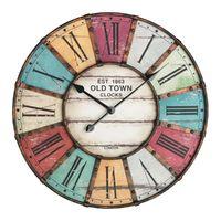 Аналоговые настенные часы TFA Vintage XXL 60.3021