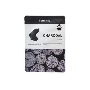 Тканевая маска с углем FarmStay VISIBLE DIFFERENCE MASK SHEET CHARCOAL 23 мл (651447)