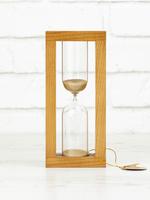Стеклоприбор Часы песочные 4-27-10мин., песок бежевый, орех (300678)