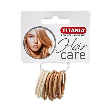 Резинки для волос TITANIA, 3 см, 12 шт., 3 цвета (7803)