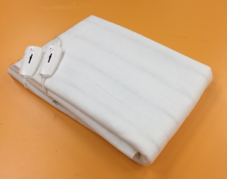 Простыня инфракрасная электрическая двуспальная без чехла, 2 зоны обогрева, 140 х 180 см, ИНКОР 78031