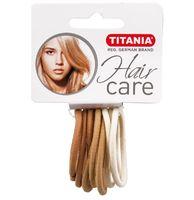 Резинки для волос TITANIA, 5 см, 9 шт, 3 цвета (7811)