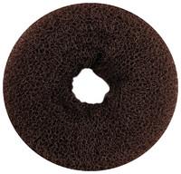 Валик для пучка TITANIA, 11 см, коричневый (7837)