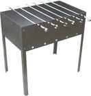 Мангал складной 35х25см (0,5мм) +6 шампуров в коробке, RoyalGrill 80-042