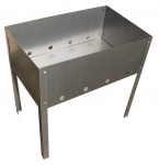 Мангал складной 50х30см (0,5мм) в коробке, RoyalGrill 80-045