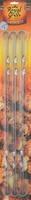 Набор плоских шампуров 60х1х0,15 см, 6 шт. в блистере, RoyalGrill 80-057