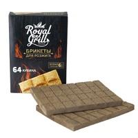 Брикеты для розжига 64 кубика, RoyalGrill 80-139