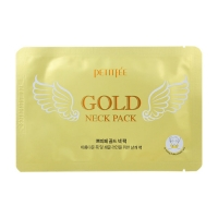 Гидрогелевые патчи для шеи PETITFEE Gold Neck Pack (for firming & silky smooth neck) 10 гр. (802995)