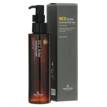 Мицеллярная вода с экстрактом риса THE SKIN HOUSE RICE ACTIVE CLEANSING WATER 150 мл (822661)