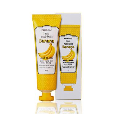 Крем для рук с экстрактом банана FarmStay I AM REAL FRUIT BANANA HAND CREAM 90 мл (8562257)