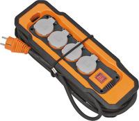 9156480100 Brennenstuhl professionalLINE удлинитель 8м, 4 розетки,выкл.,IP54