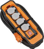 9157450100 Brennenstuhl professionalLINE удлинитель 5м, 4 розетки,выкл.,каб.2.5мм,IP54