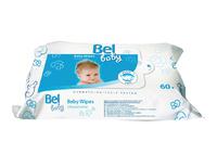 Влажные салфетки для чувствительной кожи Bel Baby wipes, 60 шт. (9162922)