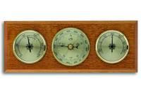 Аналоговая метеостанция TFA, 20.1001, деревянная