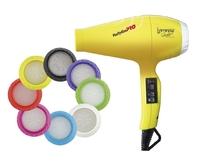 Фен профессиональный BaByliss PRO BAB6350IYE Luminoso 2100W (желтый)