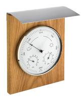 Аналоговая метеостанция TFA 20.1079.01, деревянная
