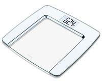 Стеклянные весы напольные Beurer GS490 White