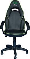 Компьютерное кресло (для геймеров) АГОНЬ, модель Jaguar - Black/Green (JAG-GN)