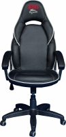 Компьютерное кресло (для геймеров) АГОНЬ Jaguar - Black/White (JAG-WH)