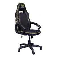Компьютерное кресло (для геймеров) АГОНЬ Jaguar - Black/Yellow (JAG-YL)