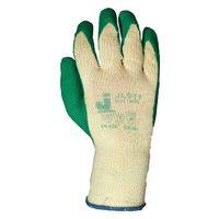 Jeta Safety JL011 Защитные промышленные трикотажные перчатки из хлопка с латексным покрытием