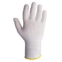 Jeta Safety JS011n Легкие бесшовные трикотажные перчатки из нейлона, цвет белый