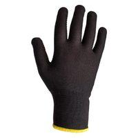Jeta Safety JS011nb Легкие бесшовные трикотажные перчатки из нейлона, цвет черный