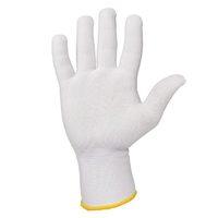 Jeta Safety JS011p Легкие бесшовные трикотажные перчатки из полиэстера, цвет белый