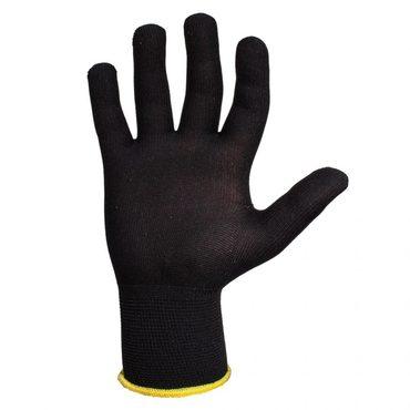 Jeta Safety JS011pb Легкие бесшовные трикотажные перчатки из полиэстера, цвет черный