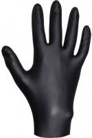 JSN809 JETAPRO Нитриловые перчатки черные одноразовые, 100шт в упаковке