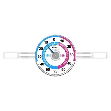 Термометр оконный биметаллический на липучках RST 02094