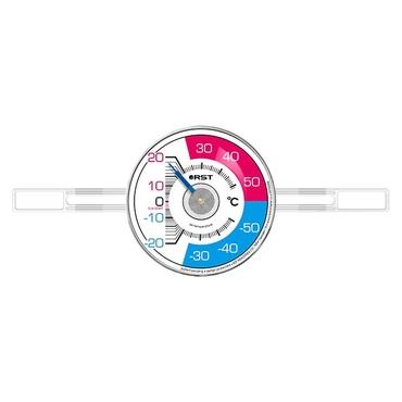 Термометр оконный биметаллический на липучках RST 02098