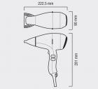 Фен VALERA Swiss SILENT 6500 Light Ionic ROTOCORD 1800W (SX6500Y RC)