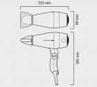 Фен VALERA Swiss Silent Jet 8500 Ionic D Rotocord (SXJ 8500 D RC)