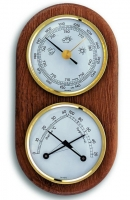 Аналоговая метеостанция TFA, 20.1051, деревянная