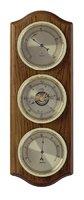 Аналоговая метеостанция TFA 20.1076.01.B, деревянная
