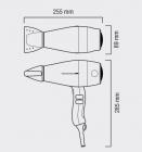 Фен VALERA Unlimited PRO 5.0 RC 2400W черный (UP 5.0 RC)