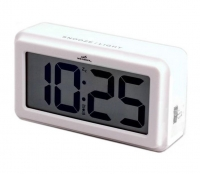 Настольные часы-будильник Wendox W39A9 White