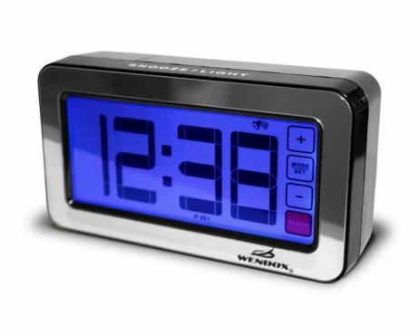 Настольные часы-будильник Wendox W39AL-B