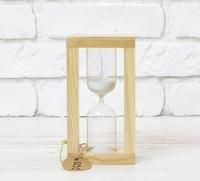 Стеклоприбор Часы песочные 4-30-5мин., песок белый, натуральный (300534)