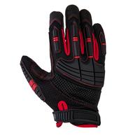 Jeta Safety JAV02-9/L Защитные перчатки трикотажные с ладонной стороны из искуст. кожи от механич. факторов