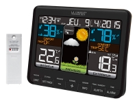 LaCrosse WS6825 Погодная станция с цветным экраном 3 датчика