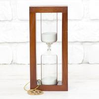 Стеклоприбор Часы песочные 4-31-10мин., песок белый, вишня (300610)